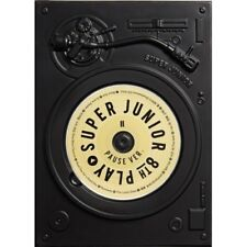 Super Junior-[Play] 8th Album Pause Ver CD+Booklet+Letter To Fans+Pre-Order Item