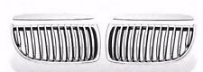Front Grille Performance Type Chrome+Black For BMW E90 / E91 05-08 4D Seden