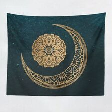 Moon & Sun Print Mandala Tapestry Wall Hanging Hippie Tapestry Home Decoration