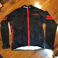 Lixada Men's Cycling Jersey Sweater Winter Thermal Windproof Long Sleeve SZ XXL