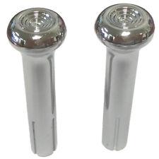 1970 71 72 73 74 75 76 77 78 79 80 81 GM Chevy Chrome Door Lock Knobs Pair M1775