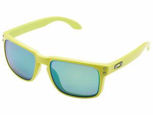Oakley Holbrook Heaven & Earth Polarized Sunglasses OO9102-72 Fern/Jade Iridium