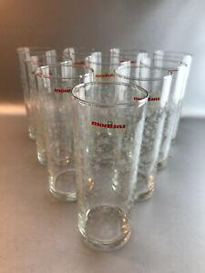 (AZ) MONTANA 10 Trinkgläser Longdrink Kölsch Wasserglas Dekor Sterne Weihnachten