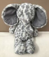 Jellycat Dapple Elephant Elly Comforter Soft Toy Grey Ears Baby Soother Plush