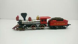 Bachmann HO Train Central Pacific RR 4-4-0 Jupiter Steam Locomotive and Tender