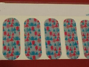 Jamberry Half Sheet - Holiday Trees - Retired on Classic 2013 - VHTF Christmas