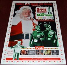SANTA CLAUS CONQUERS THE MARTIANS POSTER 4 DIFFERENT SIZES B2G1 FREE!!