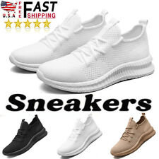 Men's Fashion Sneakers Tennis Comfortable  Walking Athletic Casual Shoes Size US