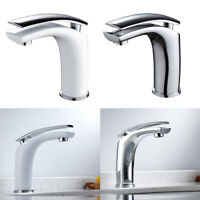 Robinets de salle de bain Mitigeur de lavabo en cascade Monobloc Laiton Moderne