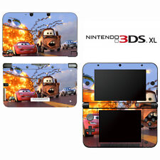 Vinyl Skin Decal Cover for Nintendo 3DS XL LL - Racing Cars 2 Lightning McQueen