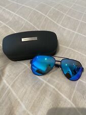 Authentic Dolce And Gabbana Sunglasses - Blue Frame And Blue Reflective Lenses