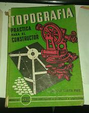ZURITA RUIZ. Topografia practica para el constructor. Ceac. 1958.