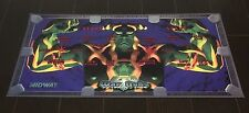 War Gods Arcade Control Panel Overlay CPO Midway