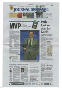 Milwaukee Journal-Sentinel Mini-papers Packers Aaron Rodgers Clay Matthews Favre