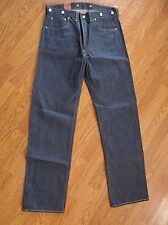 LEVIS VINTAGE CLOTHING 1933 501 Rigid JEANS 3350101190 32x34 Made In USA NWT