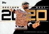 2020 Topps Series 1 Decades Best Inserts Complete Your Set You Pick Decade's Lot