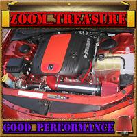 RED 04 05 06//2004 2005 2006 PONTIAC GTO G T O 5.7 5.7L//6.0 6.0L V8 AIR INTAKE S