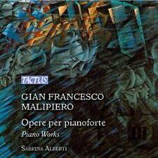 Malipiero:Opere Per Piano [Sabrina Alberti] [TACTUS: TC 881302], Sabrina Alberti