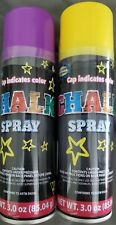 (2) Two Creative Kids Chalk Spray - Cap Indicates Color