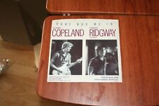 """STEWART COPELAND AND STAN RIDGWAY - DON'T BOX ME IN     7"""" VINYL  PS"""