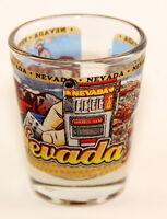 NEVADA STATE WRAPAROUND SHOT GLASS SHOTGLASS
