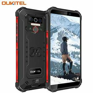 OUKITEL WP5 Rugged Smartphone, 4G LTE Dual SIM IP68 Waterproof Unlocked Mobile