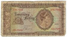 Luxembourg - 20 Francs 1943