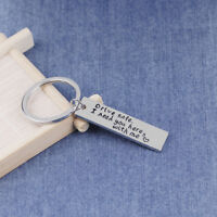 Key Chain Drive Safe I Need You Here With Me Keyring Couple Boyfriend Gift