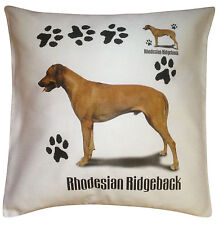 Rhodesian Ridgeback Paws Breed of Dog Cotton Cushion Cover - Perfect Gift