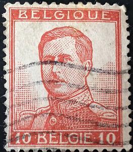 Stamp Belgium SG136 1912 King Albert I Used