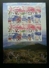 Malaysia Celebrate Millennium (I) 1999 Bird Fish Frog (sheetlet MNH *imperf RARE