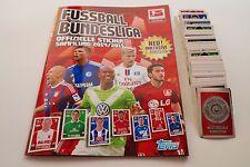 TOPPS Bundesliga 2014/15 - Album + Komplettset + alle 312 Sticker Neu/Top