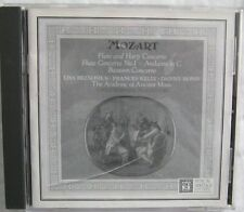 Mozart Flute Harp Concerto Academy of Ancient Music CD MHS 513970X 1995
