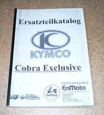 Catalogo Ricambi Kymco Cobra Exclusive