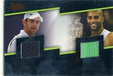 2007 Andy Roddick /James Blake JERSEY #DJ4 ACE AUTHENTIC 07
