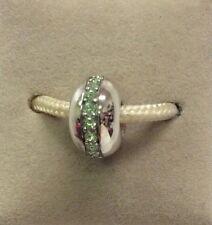 Chamilia Jewelry Peridot Wink Swarovski Crystal Bead Sterling Silver Charm