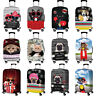 """Cute Cat Dog Elastic Suitcase Protective Case Luggage Dustproof Cover 18"""" -32"""""""