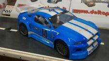 1/8 Ford Mustang RC Car Body clear 1.5mm GT Inferno GT Serpent Traxxas 0175/15