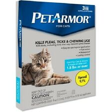 Pet Armor for Cats Over 1.5 lbs (3 Month Supply) NEW