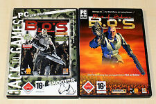 2 pc jeux set-Bet on soldier-b.o.s. & Blood of sahara-FSK 18 shooter