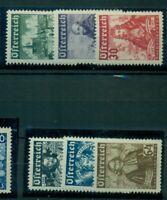Österreich, Persönlichkeiten Nr. 557 - 562 postfrisch **