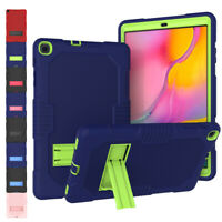 For Samsung Galaxy Tab A 8.0 / 8.4 / 10.1 Shockproof Rugged Silicone Stand Case