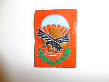 b7567 RVN South Vietnam Army Airborne 3rd Medical company patch org/brn IR8D