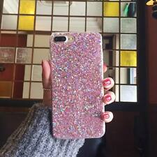 Luxury Bling Sparkle Glitter Sequin Strap Soft Case For iPhone X 8 7 6s Plus