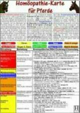 Homöopathie für Pferde DIN A5 Tierheilkunde Karte Stück Deutsch 2010