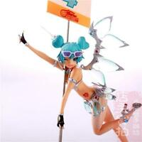 NEW Vocaloid Hatsune Miku 2013 Racing Miku Painted Action PVC Figure Model Toy