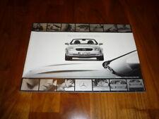 Mercedes SLK Prospekt
