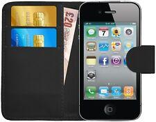 G-Shield® Etui Coque Housse Portefeuille PU Cuir Pour Apple iPhone 4 / iPhone 4S
