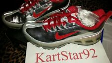 Air Max 360 Powerwall HOA Night Track size 9 New 314202 061 Chrome - Red