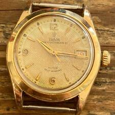 ROLEX TUDOR PRINCE OYSTERDATE 7911 SMALL ROSE GOLD PLATED VINTAGE GENUINE WATCH